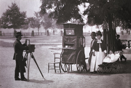 Photography on the Common; c.1877