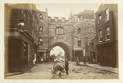 St. John's Gate ; 1876-1890