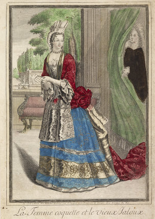 La Femme coquette et le vieux Jaloux; 1697