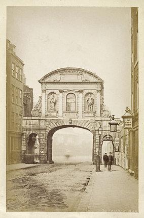 Temple Bar; c 1880
