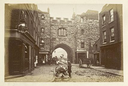 St. John's Gate (old city gate); 1876-1890