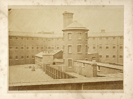 The Female Block Millbank Prison; C1880