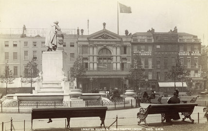 The Empire Theatre, Leicester Square; 1880