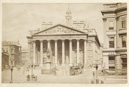 The Royal Exchange; c.1880