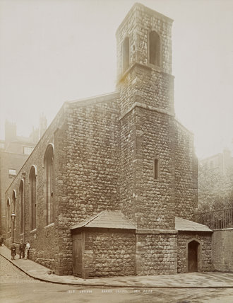 The Savoy Chapel, Strand, c.1890