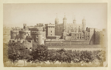 The Tower of London; c.1880