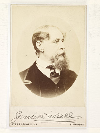 Charles Dickens; c.1867