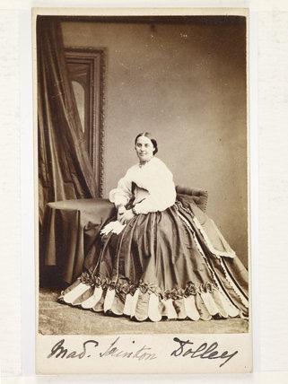 Charlotte Helen Sainton -Dolby; c1860