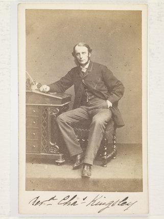 Reverend Charles Kingsley; c.1860