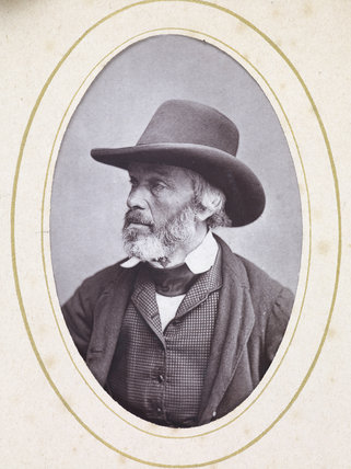 Photograph of Thomas Carlyle; c 1880