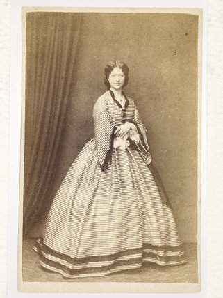 Portrait of Kate Terry; c.1865