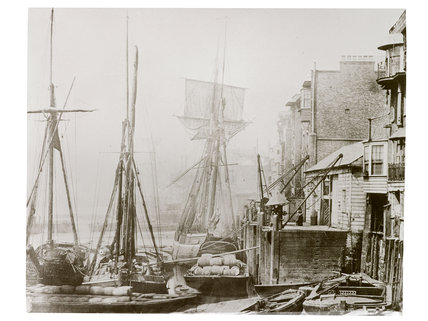 Black Eagle Wharf, Wapping c.1860