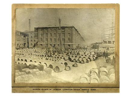 North Quay Western Dock, c.1865