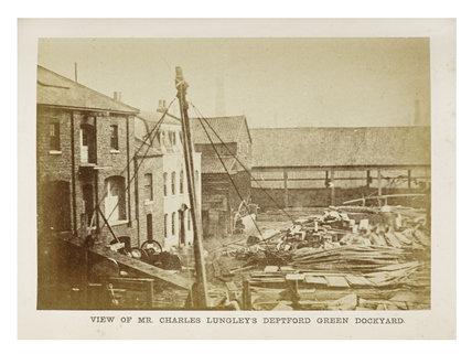 Charles Lungley's Dockyard; c1863
