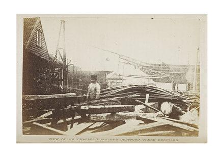 Charles Lungley's Dockyard Deptford Green; 1863