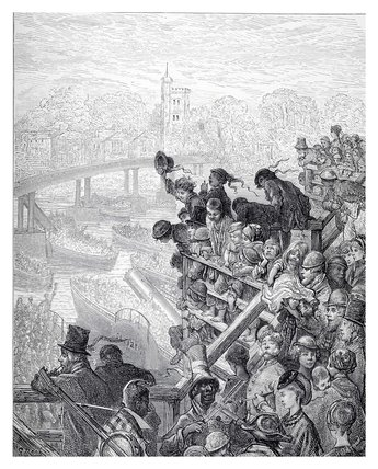 Putney Bridge - the return: 1872
