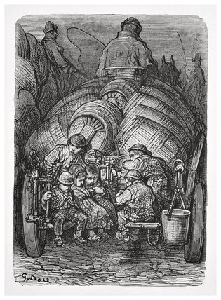 Brewer's dray: 1872