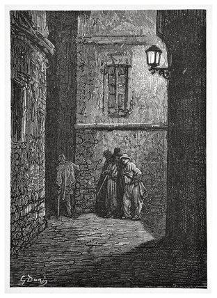 Whitechapel - a shady place: 1872