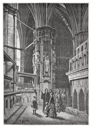 Westminster - the round of the abbey: 1872