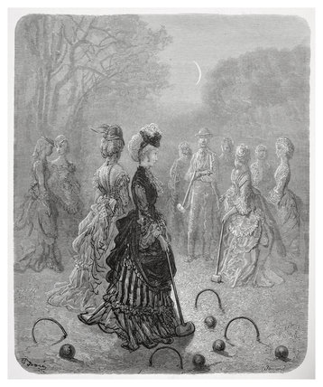 Croquet: 1872