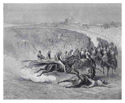 The Derby - Tattenham: 1872