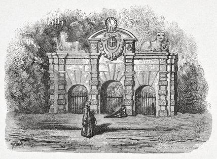 Buckingham Gate: 1872