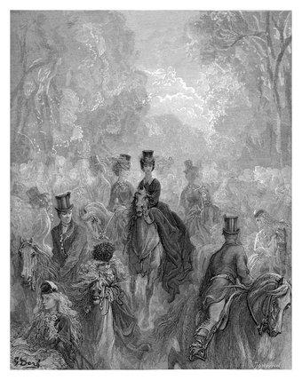 The ladies' mile: 1872