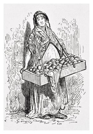 Orange Woman: 1872