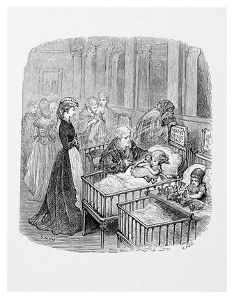 Infant hospital patients: 1872