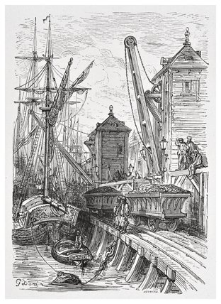 Poplar dock: 1872