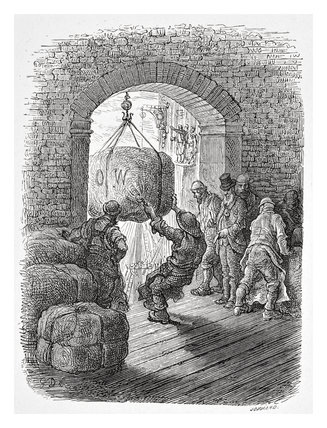 Porters at work: 1872