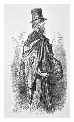 A Greenwich boat traveller: 1872