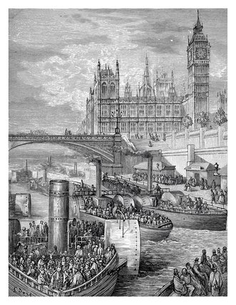 Westminster stairs: 1872