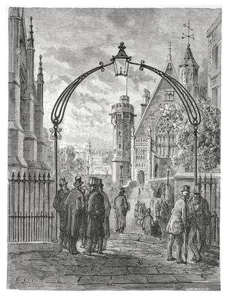 Dean's Yard - Westminster: 1872