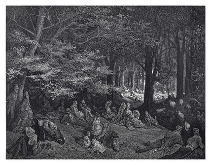 Under the trees - Regent's Park: 1872