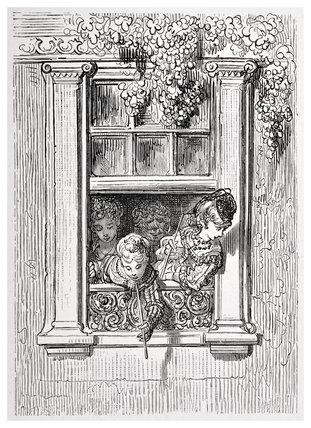 A balcony scene: 1872