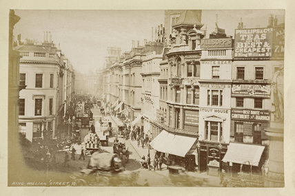 King William Street; c.1880