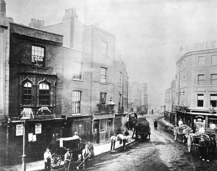 John Barkers Kensington High Street; c.1880