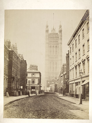 Victoria Tower from the South: c.1867