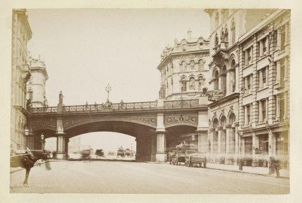 Holborn Viaduct; c.1880