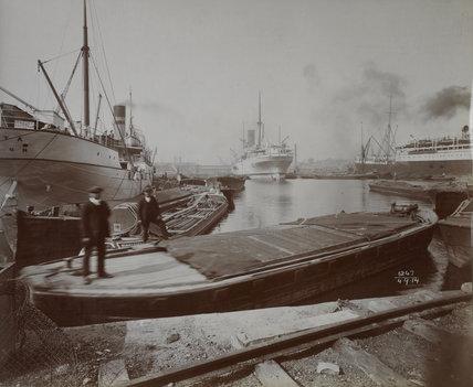 East India Export Dock: 1914