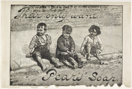 Advertisement for Pear's Soap: c.1893
