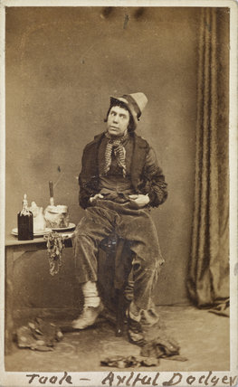John Lawrence Toole as the Artful Dodger;
