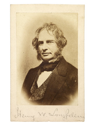 Henry Wadsworth Longfellow: c.1870