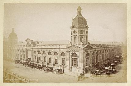 Smithfield Meat market; c.1880