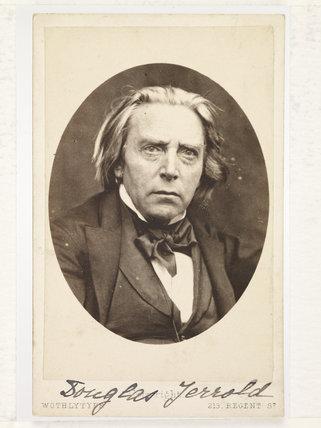 Portrait of Douglas William Jerrold; c.1855