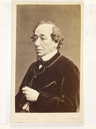 Portrait of Benjamin Disraeli, Earl of Beaconsfield