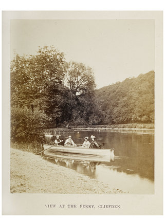 View at The Ferry, Cliefden: 1866