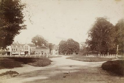 The Green at Southgate, c. 1870.