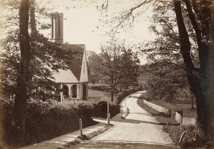 East Barnet Lane, c.1870